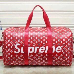 1ca3e8a3cc5f Louis Vuitton · RARE SUPREME X LOUIS VUITTON DUFFLE BAG
